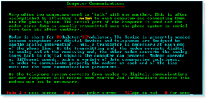 More Computer Terms 020 Computer Communications