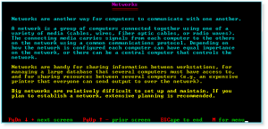 More Computer Terms 021 Networks