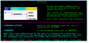 Advanced DOS 007 Pathnames