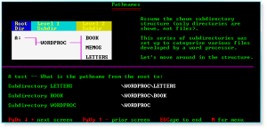 Advanced DOS 008 Pathnames