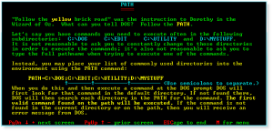 Advanced DOS 020 PATH