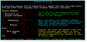 Programming 018 Program Structure