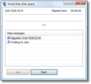 File Shredder 06 Start Menu