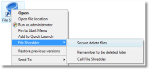 File Shredder 07 Secure Delete Files