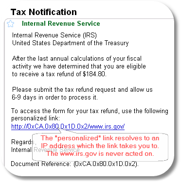 IRS Phishing Notice