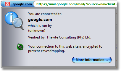 SSL Connection Security